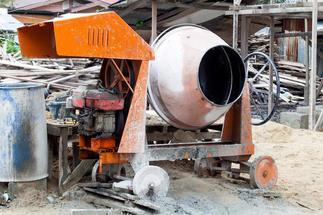 Cement Mixer construction